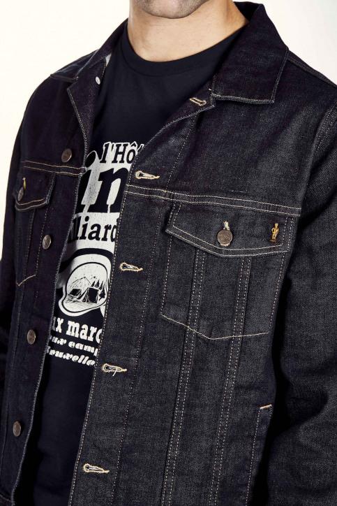 Jassen (jeans) blauw MDB RIDER JACKET MEN_BLUE img5