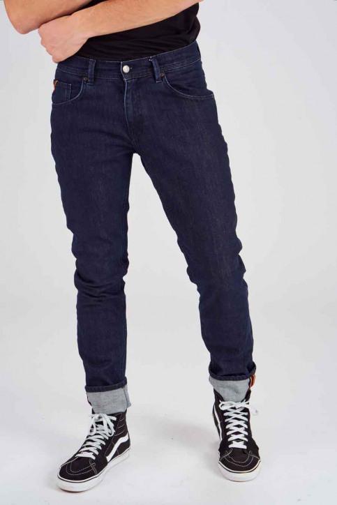 Le Fabuleux Marcel De Bruxelles Jeans straight denim MDB184MT 001_DARK DENIM img1