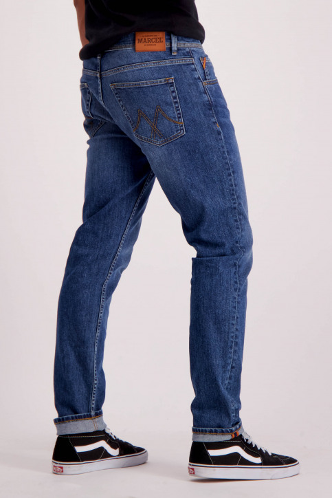 Le Fabuleux Marcel De Bruxelles Jeans straight denim MDB184MT 003_LIGHT DENIM img2