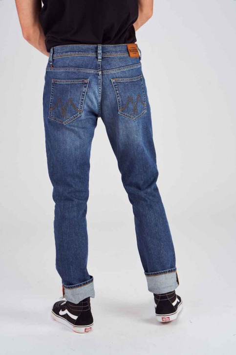Le Fabuleux Marcel De Bruxelles Jeans straight denim MDB184MT 003_LIGHT DENIM img3