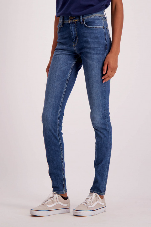 Le Fabuleux Marcel De Bruxelles Jeans skinny denim MDB184WT 007_LIGHT DENIM img6