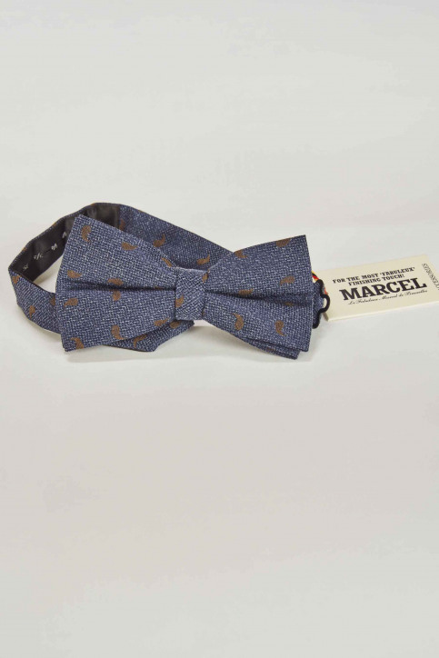 Le Fabuleux Marcel de Bruxelles Strikjes blauw MDB191MA 002_BLUE BROWN img6