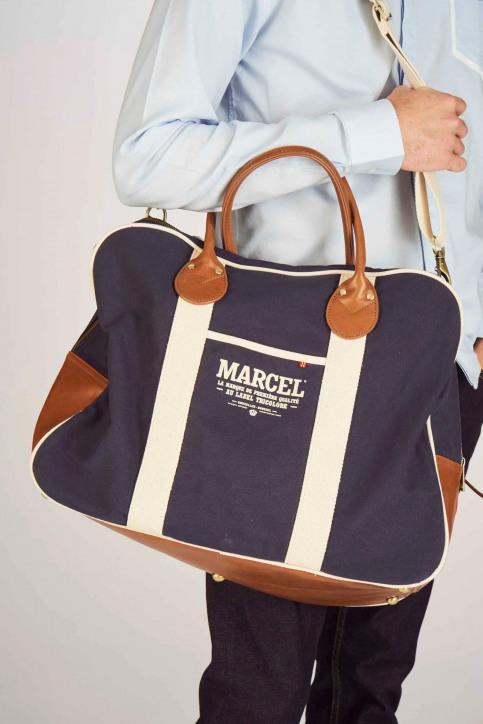 Le Fabuleux Marcel de Bruxelles Sacs en bandoulière bleu MDB191MA 005_NAVY img3