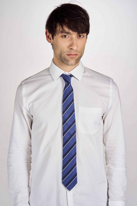 Cravates bleu MDB191MA 009_NAVY img1