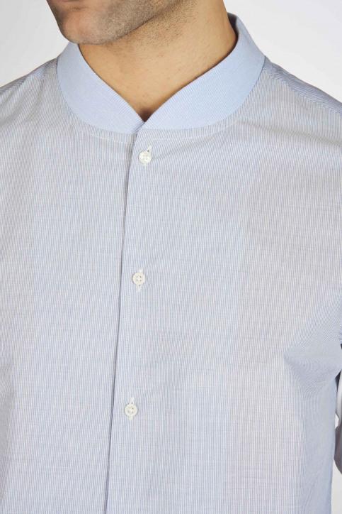 Hemden (lange mouwen) blauw MDB191MT 038_BLUE img4