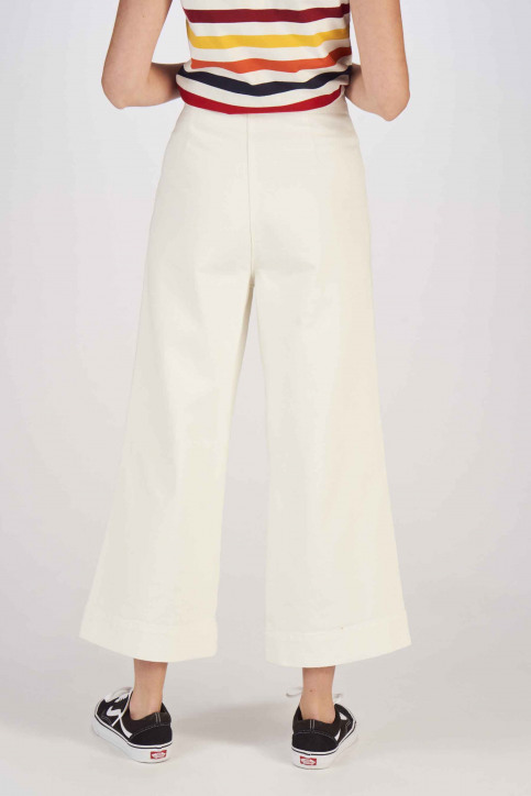 Le Fabuleux Marcel De Bruxelles Jeans fared wit MDB191WT 039_WHITE img3