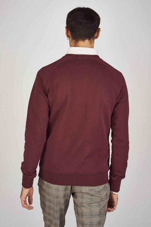 Le Fabuleux Marcel De Bruxelles Sweaters met ronde hals rood MDB192MT 007_BORDEAUX img3