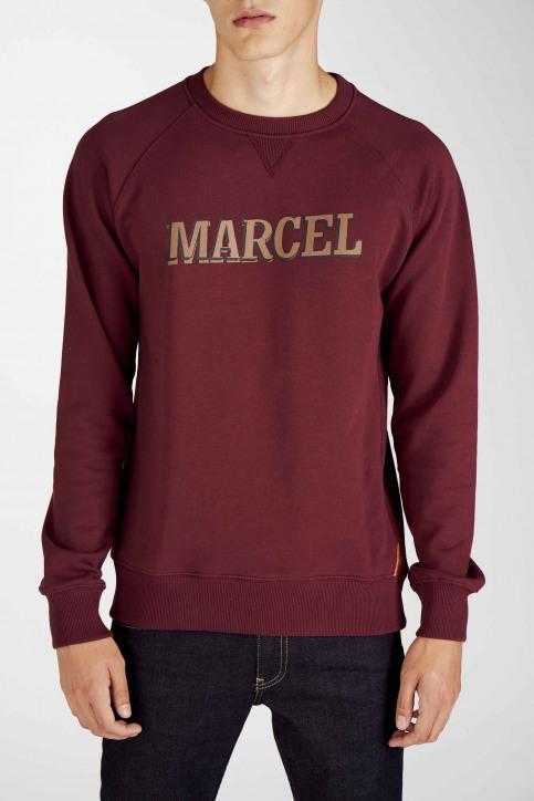 Le Fabuleux Marcel De Bruxelles Sweaters met ronde hals rood MDB192MT 007_BORDEAUX img5