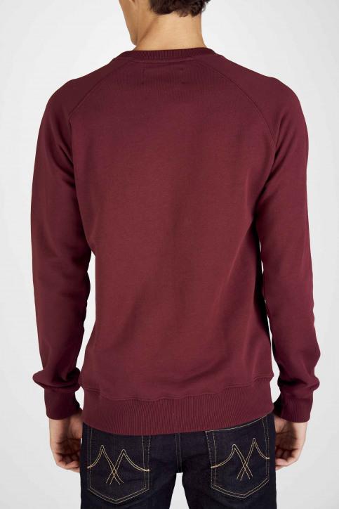 Le Fabuleux Marcel De Bruxelles Sweaters met ronde hals rood MDB192MT 007_BORDEAUX img6