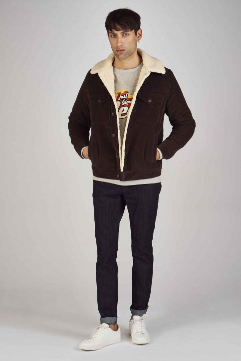 Le Fabuleux Marcel De Bruxelles Sweaters met ronde hals grijs MDB192MT 013_GREY MELEE img2