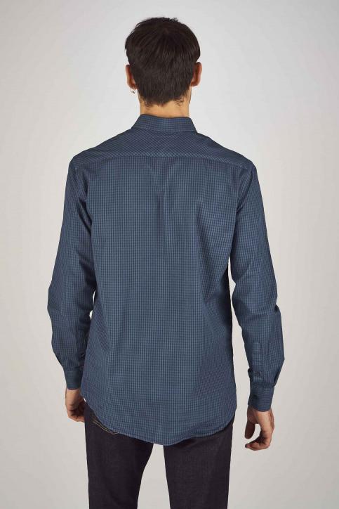 Le Fabuleux Marcel De Bruxelles Hemden (lange mouwen) blauw MDB192MT 022_NAVY img3