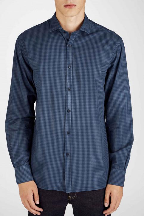 Le Fabuleux Marcel De Bruxelles Hemden (lange mouwen) blauw MDB192MT 022_NAVY img5