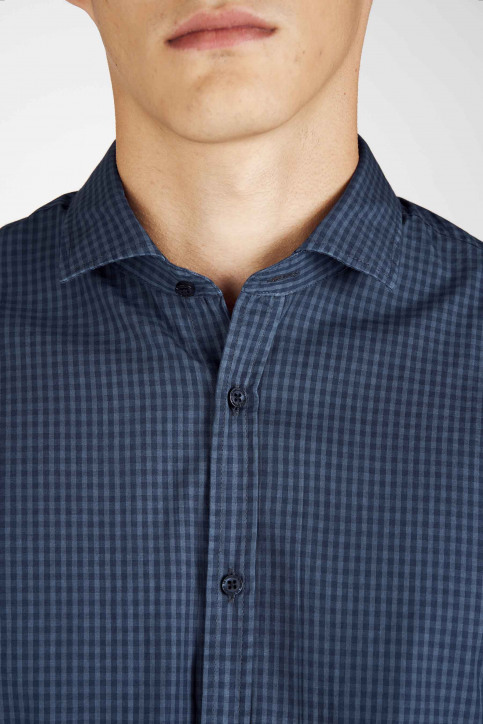 Le Fabuleux Marcel De Bruxelles Hemden (lange mouwen) blauw MDB192MT 022_NAVY img7