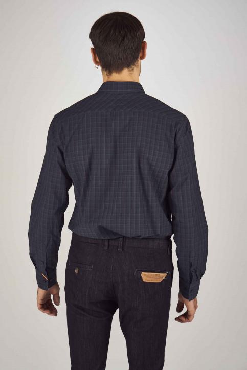 Le Fabuleux Marcel De Bruxelles Hemden (lange mouwen) blauw MDB192MT 023_NAVY img3