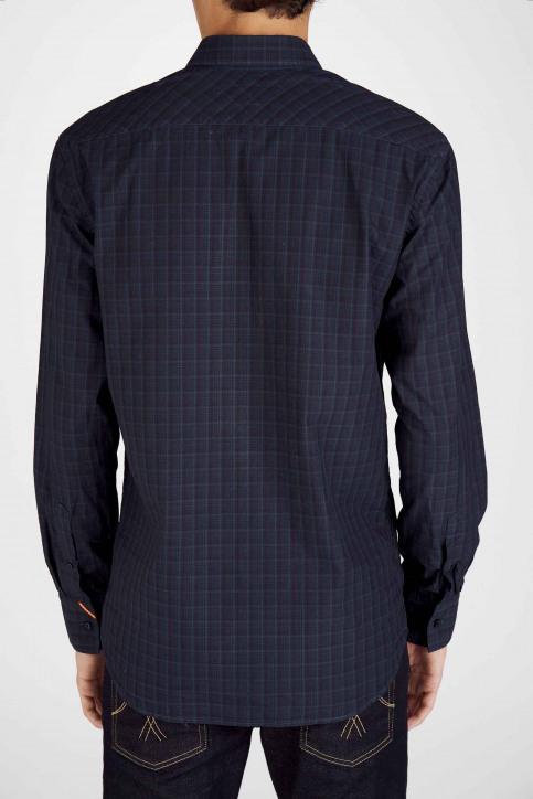 Le Fabuleux Marcel De Bruxelles Hemden (lange mouwen) blauw MDB192MT 023_NAVY img6
