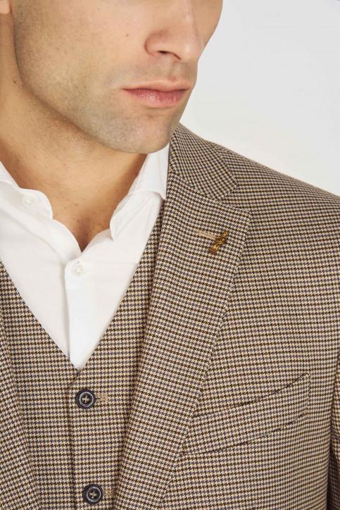 Le Fabuleux Marcel de Bruxelles Blazers brun MDB193MT 007_BROWN img5