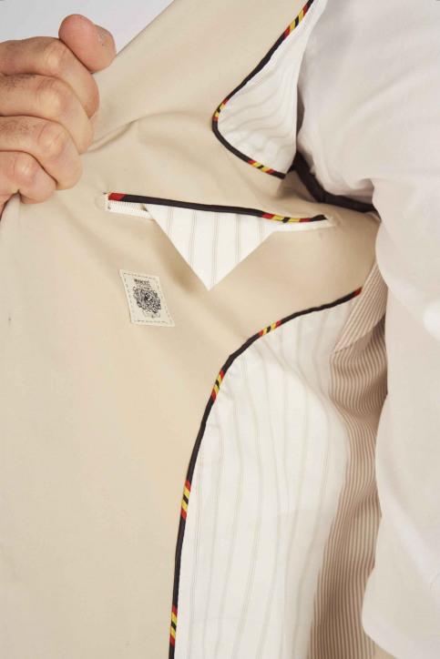 Le Fabuleux Marcel de Bruxelles Blazers beige MDB193MT 011_BEIGE img5