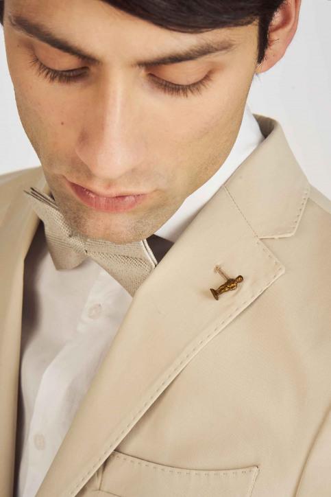 Le Fabuleux Marcel de Bruxelles Blazers beige MDB193MT 011_BEIGE img6