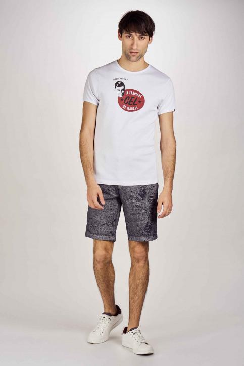 Le Fabuleux Marcel De Bruxelles T-shirts (manches courtes) blanc MDB201MT 018_WHITE img2