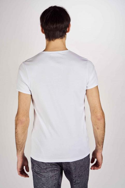 Le Fabuleux Marcel De Bruxelles T-shirts (manches courtes) blanc MDB201MT 018_WHITE img3