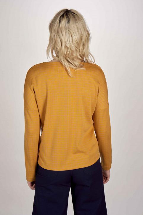 Le Fabuleux Marcel De Bruxelles Sweaters met ronde hals multicolor MDB201WT 003_GOLDEN YELLOW img3