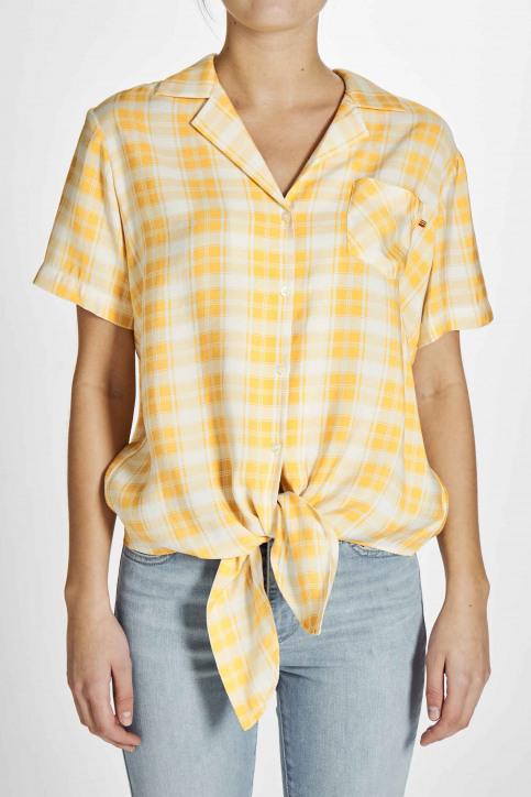 Le Fabuleux Marcel De Bruxelles Hemden (korte mouwen) wit MDB201WT 016_OFF WHITE img5