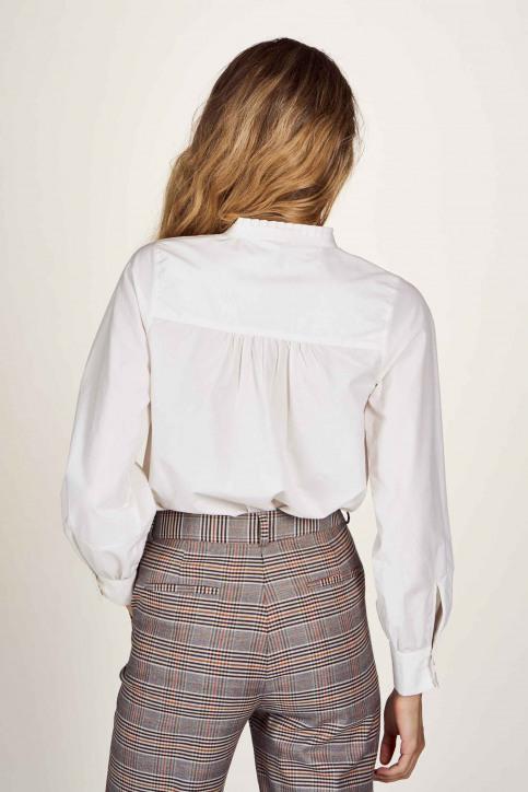 Hemden (lange mouwen) wit MDB204WT 005_GARDENIA img4