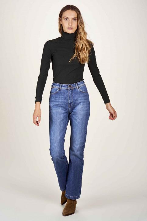 Le Fabuleux Marcel De Bruxelles Jeans bootcut denim MDB204WT 011_DENIM img1