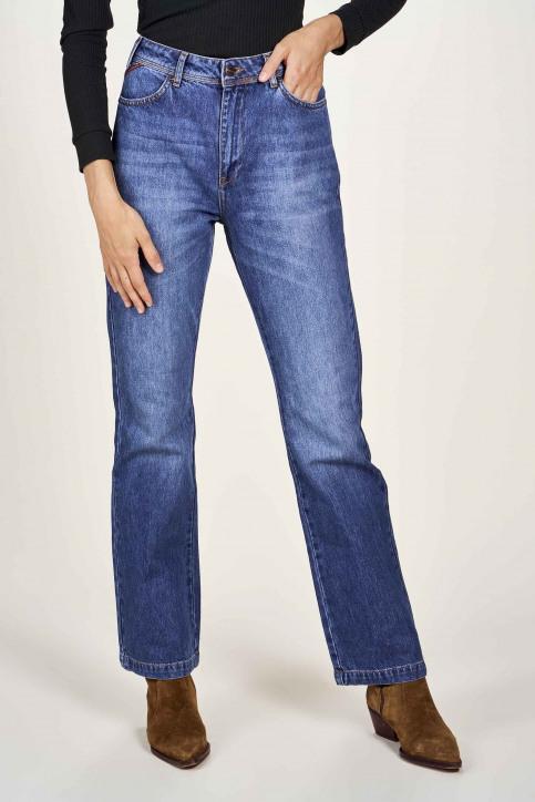 Le Fabuleux Marcel De Bruxelles Jeans bootcut denim MDB204WT 011_DENIM img2