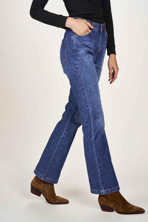 Le Fabuleux Marcel De Bruxelles Jeans bootcut denim MDB204WT 011_DENIM img4