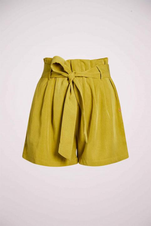 Le Fabuleux Marcel De Bruxelles Shorts groen MDB213WT 007_ECRU OLIVE img3