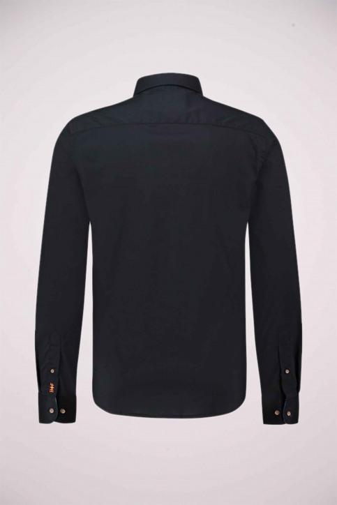 Haze & Finn Chemises (manches longues) noir ME-0103_Black - img5