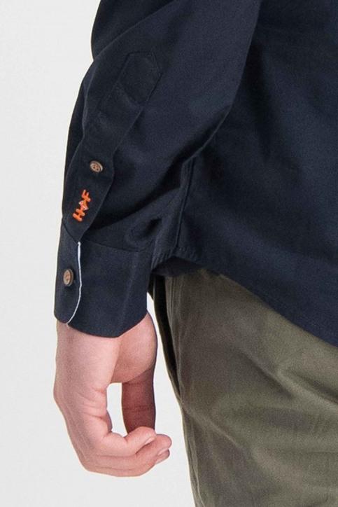 Haze & Finn Chemises (manches longues) bleu ME-0103_Navy - img3
