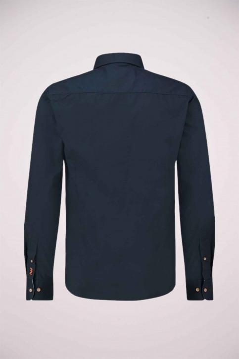 Haze & Finn Chemises (manches longues) bleu ME-0103_Navy - img4