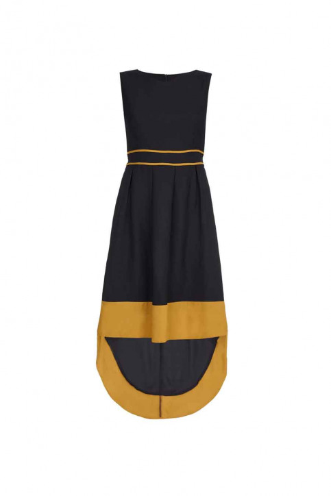 MELA Robes longues noir ML1767018_BLACK img1