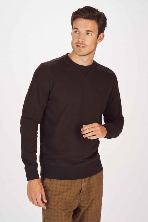 Petrol Industries® Sweaters met ronde hals zwart MNOOSSWR001_9999 BLACK img1