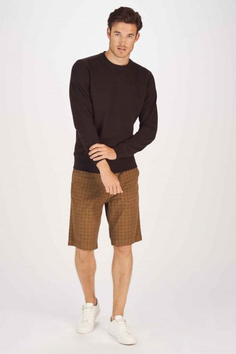 Petrol Industries® Sweaters met ronde hals zwart MNOOSSWR001_9999 BLACK img2