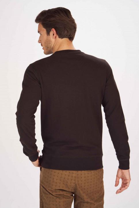Petrol Industries® Sweaters met ronde hals zwart MNOOSSWR001_9999 BLACK img3