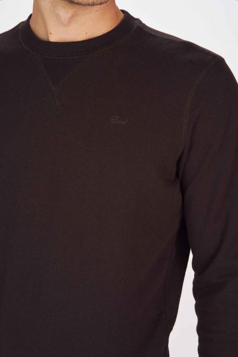Petrol Industries® Sweaters met ronde hals zwart MNOOSSWR001_9999 BLACK img4