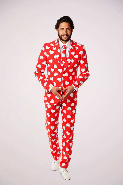 Opposuits Carnavalkostuums rood MR LOVER LOVER_0003 img1