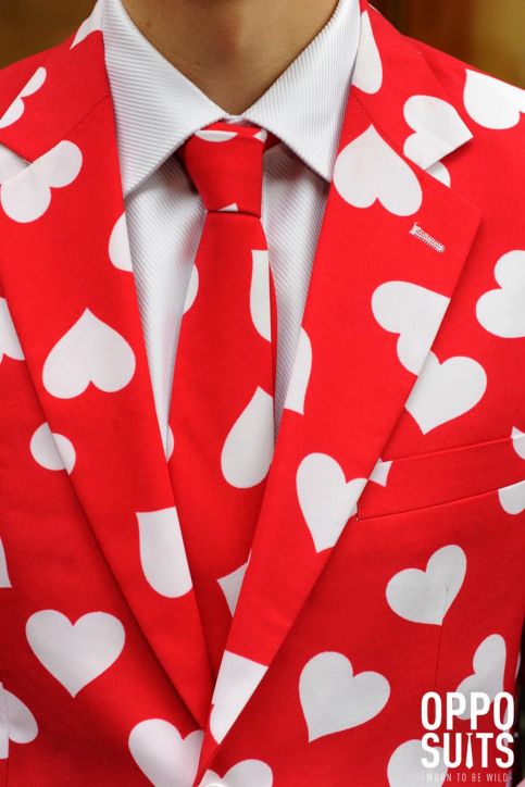 Opposuits Costumes carnaval rouge MR LOVER LOVER_0003 img5