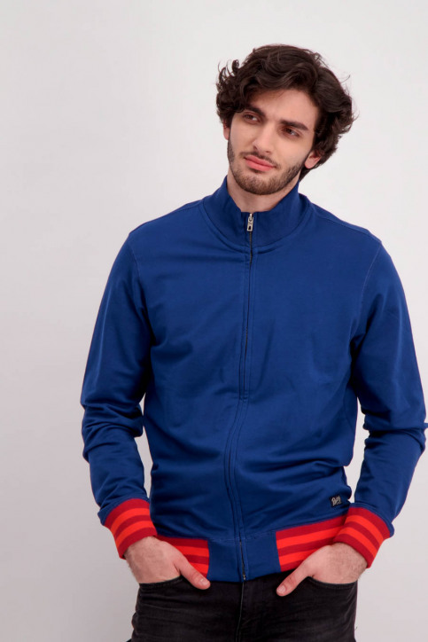 Petrol Sweaters met ronde hals blauw MSS18SPSWC177_5076 ROYAL BLUE img1