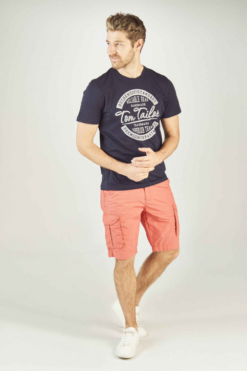 Petrol Shorts rood MSS19SHO500_3082 FADED RED img2