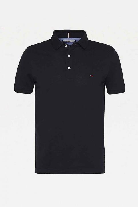 Tommy Jeans Polos noir MW0MW04975_032 Flag Black img4