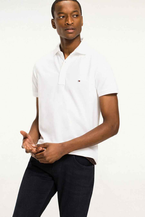 Tommy Jeans Polo's wit MW0MW04975_100 BRIGHT WHIT img1