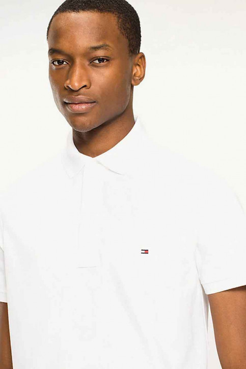Tommy Jeans Polo's wit MW0MW04975_100 BRIGHT WHIT img3