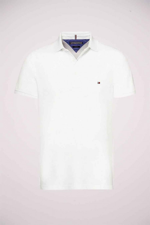Tommy Jeans Polo's wit MW0MW04975_100 BRIGHT WHIT img4