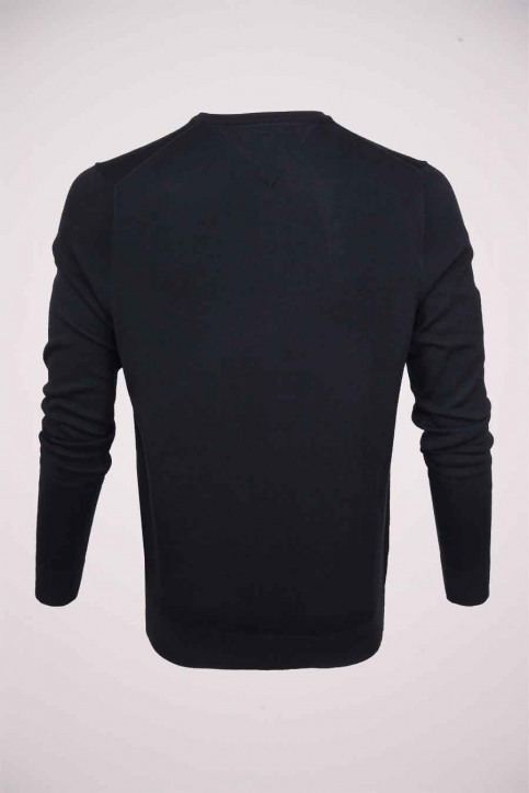 Tommy Jeans Pulls col V bleu MW0MW04979_403 SKY CAPTAIN img2