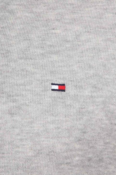 Tommy Jeans Pulls col V gris MW0MW04979_501 CLOUD HTR img3