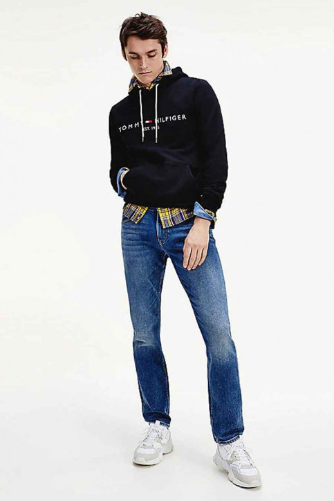 Tommy Jeans Sweats avec capuchon noir MW0MW10752_403 SKY CAPTAIN img3